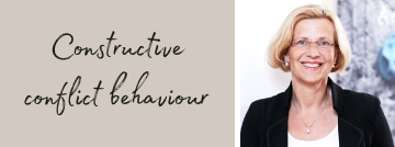 Constructive conflict behaviour